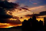 Chillon sunset fantasy, Montreux