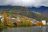 The 'golden fringe', Montreux