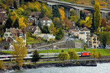 Lakeside railway, Montreux