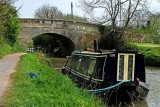 Road bridge and narrow boat, Bradford on Avon