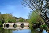 Bridge over peaceful waters, Bradford on Avon