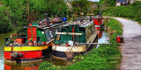 Three boats on the K & A, Bradford on Avon (1574)