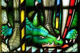 Window detail, Hinton St. George