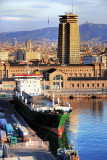 Cargo ship, Barcelona