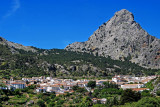 Grazalema and mountain
