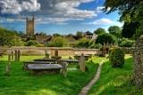 Graveyard, Cerne Abbas, Dorset (3886)