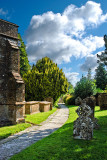 Church path, Hinton