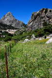 Fence and mountain, Grazalema