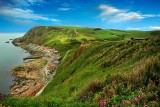 Crovie and hills