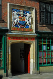 Merchants Hall crest, York