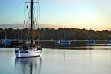 White yacht, Dittisham
