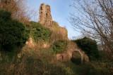 Les ruines du château du Guirbaden