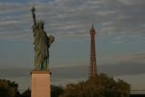 Statue de la liberté - pont de Grenelle