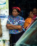Huastecan Women in the store