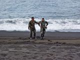 Marines on the beach