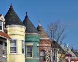 C Street NE turrets