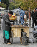 Selling chestnuts