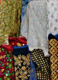 Covered Bazaar, fabric dealers street