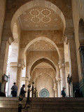 015 Casablanca - Hassan II Mosque - Up to entrance.JPG
