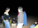 006 Sahara camp - Mohammed gets into the act.JPG