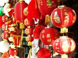 Lanternes rouges.