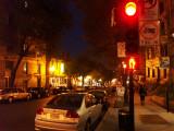St Denis by night.