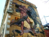 Art mural.