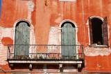 Le balcon du vieil hôtel