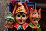 Trois masques