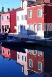 Reflet dans le canal.