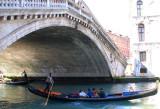 Sous le Pont du Rialto