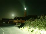 La pleine lune sur St Mathieu.