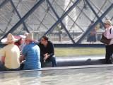 Paris, les mexicains du Louvre.