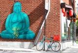 Buddha's bicycle.