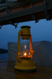 Lantern on deck