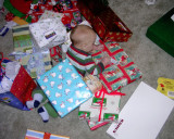 Smothered in presents