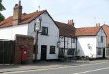 The Crown at Bray, near Maidenhead.  Middle part dates to 1380