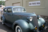 This Studebaker was bought at Prendergast Motors.  Driven on Tour by Buzz .