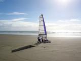 3rd: land-sailing