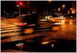 Speeding car in the rain  (day 76 of rain)