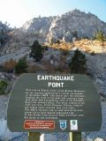 Raodside Attraction ( Earthquake Area) Between Entiat And Lake Chelan