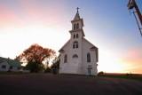 Little White Church In Town Of Douglas