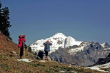 Glacier Peak View From Fire Mountain Pass ( Oct. 1977)