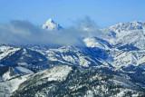 Mt. Stewart Fron Blewett Pass Area