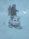 Riding In Heavy Snow