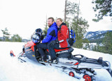 Paul and Michelle With  Michelle's New Polaris 600