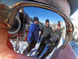 Paul ,Eric And Jason Enjoy A Break In The Sun ( Tammy's Mirror Glasses)