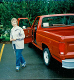 Mom with New Truck ( 1984)