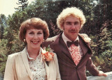 Mom And Me At My  First Wedding July 1981)