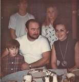 Our Family 1973 ( Each Person, Look A Different Direction On The Count 3)